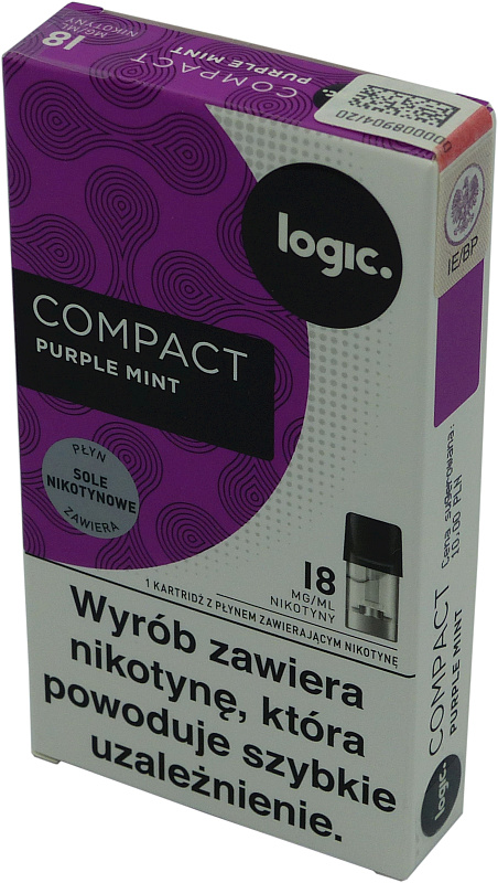 LOGIC purple mint 18mg 10,00
