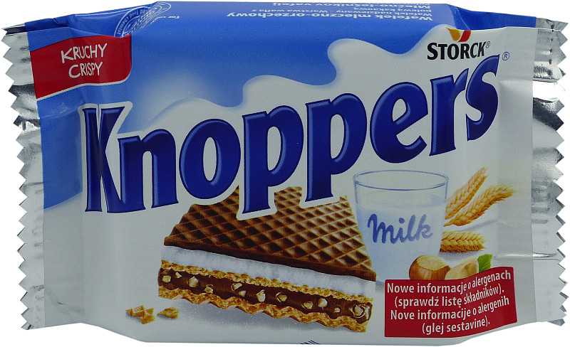 WAFEL KNOPPERS  24g MLE-OR